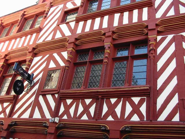 colombages facades